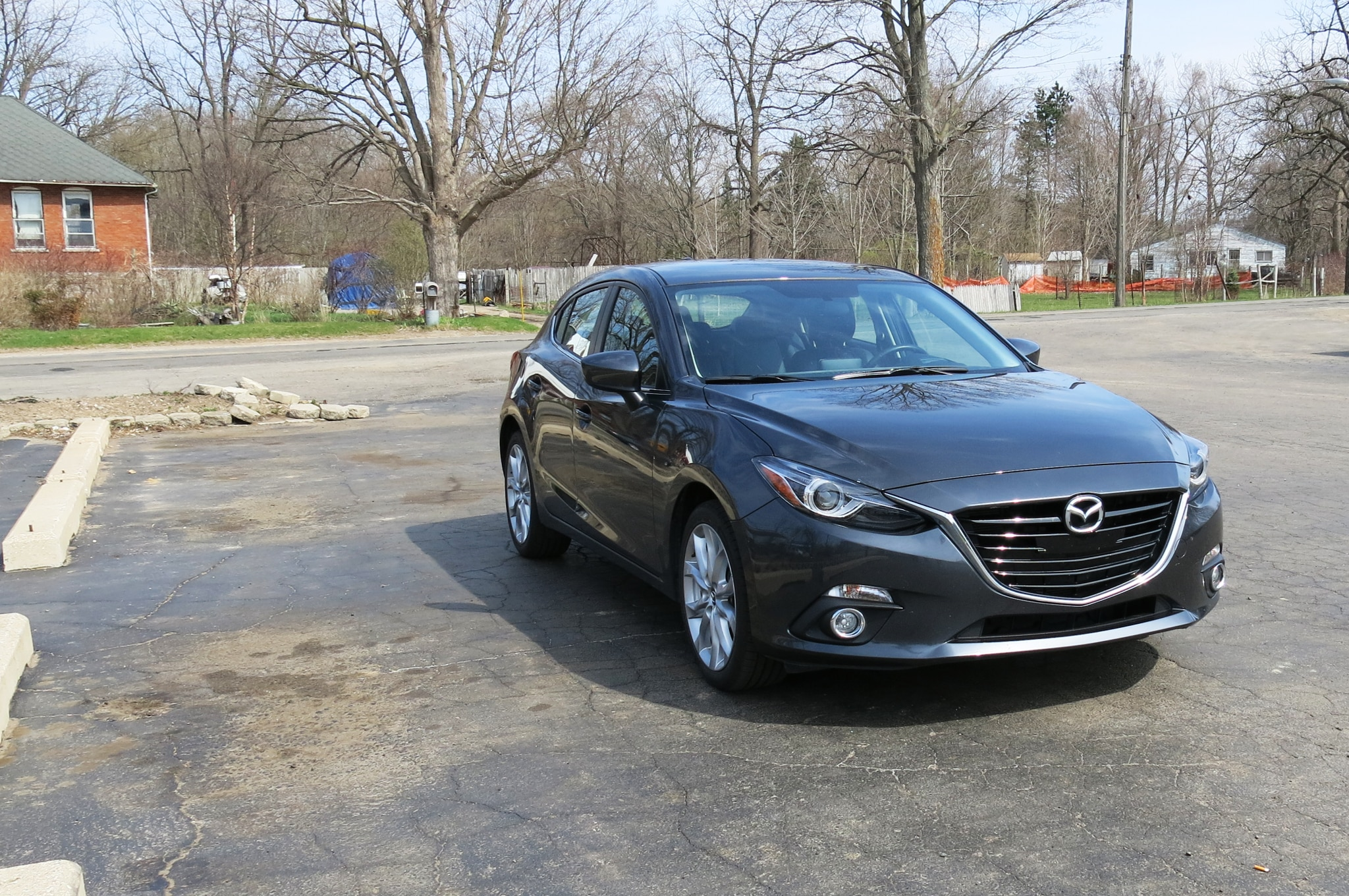 2014 mazda 3 s touring mpg test vs 2014 honda civic ex l. Black Bedroom Furniture Sets. Home Design Ideas
