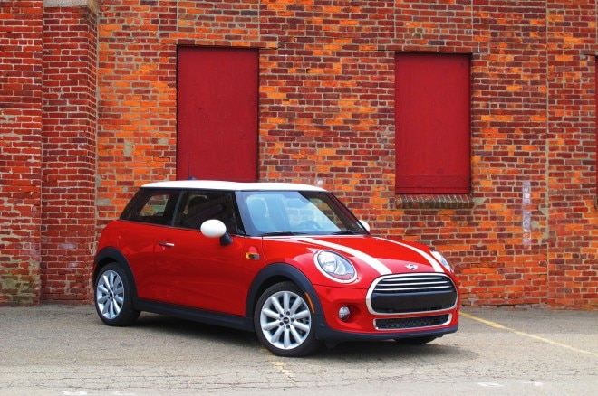 2014 Mini Cooper Front Three Quarters Brick Wall1 660x438