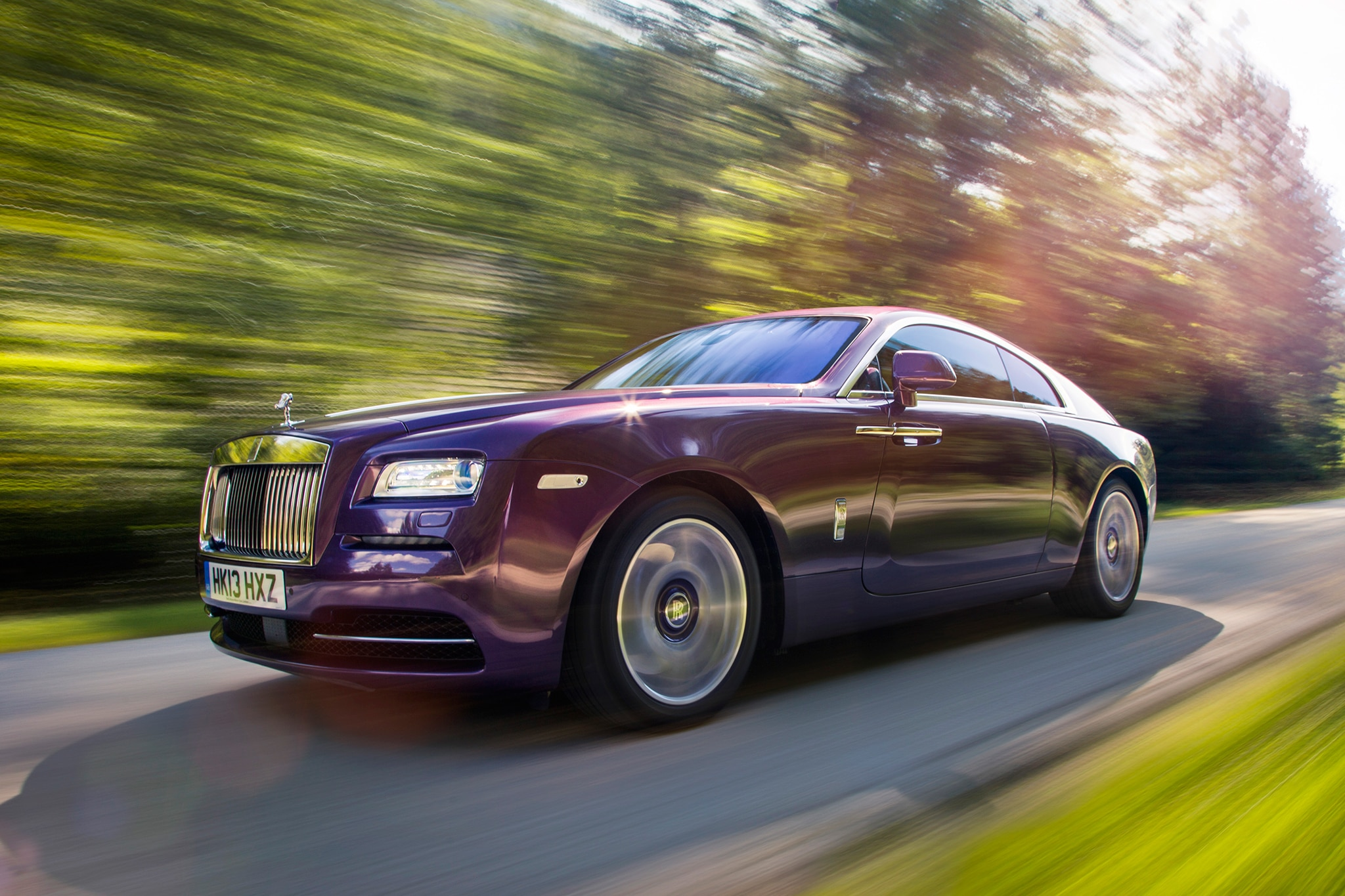 2014 Rolls Royce Wraith Three Quarters View 51