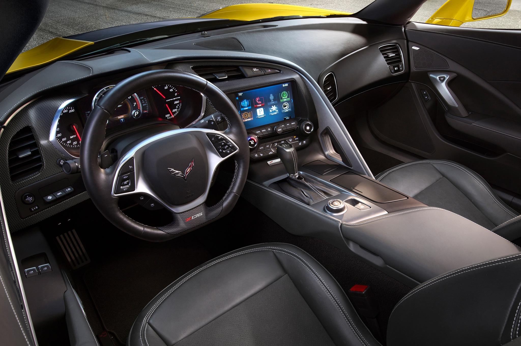 chevrolet corvette interior. enthusiasts chevrolet corvette interior t