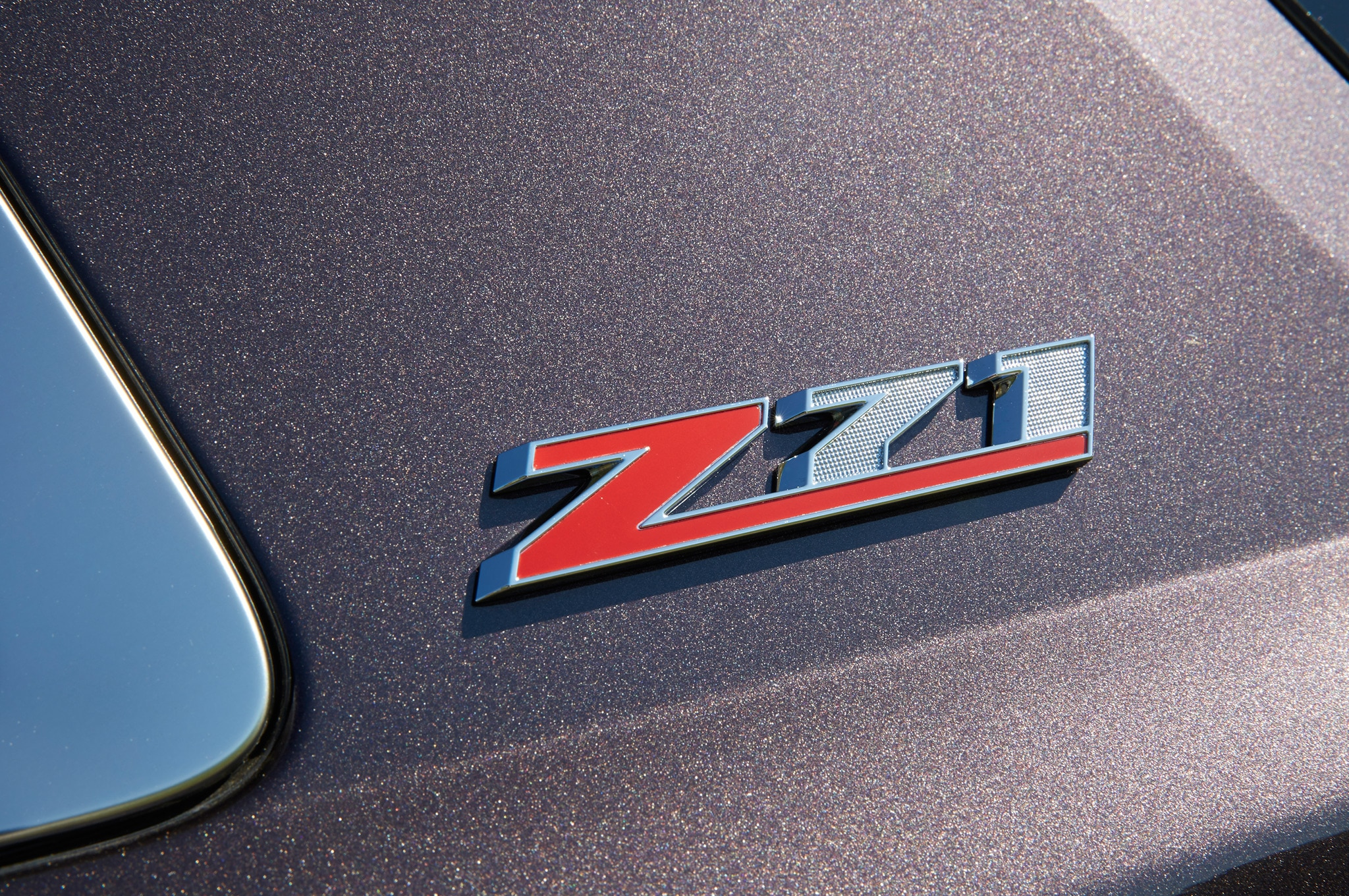 2015 Chevrolet Tahoe Z71 Badge1