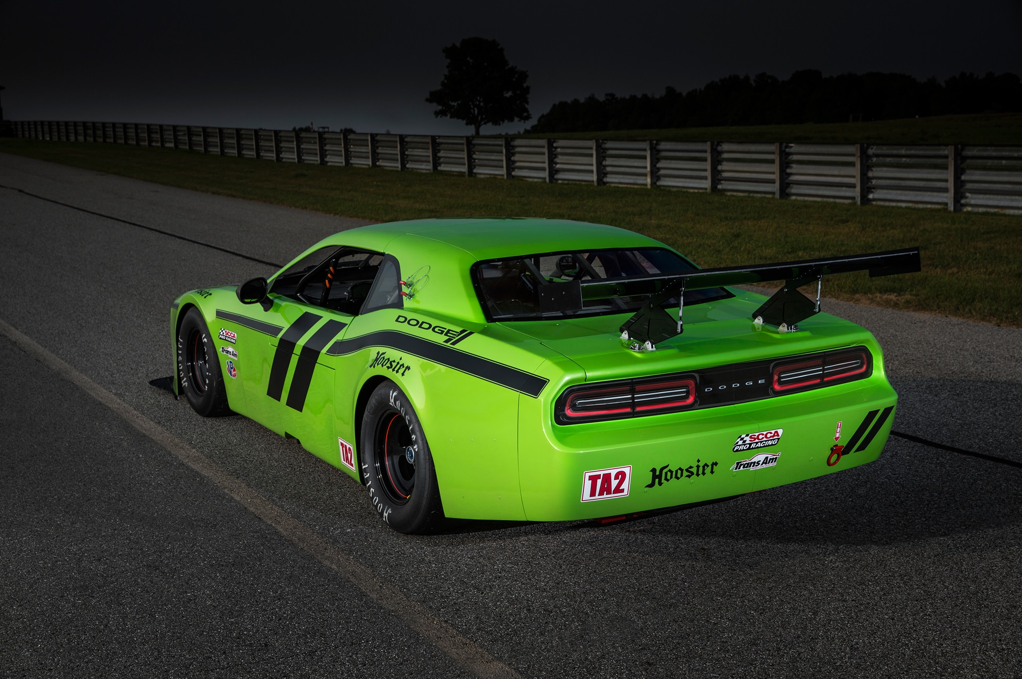 Dodge Challenger SRT Race Car Debuts in Trans Am Series