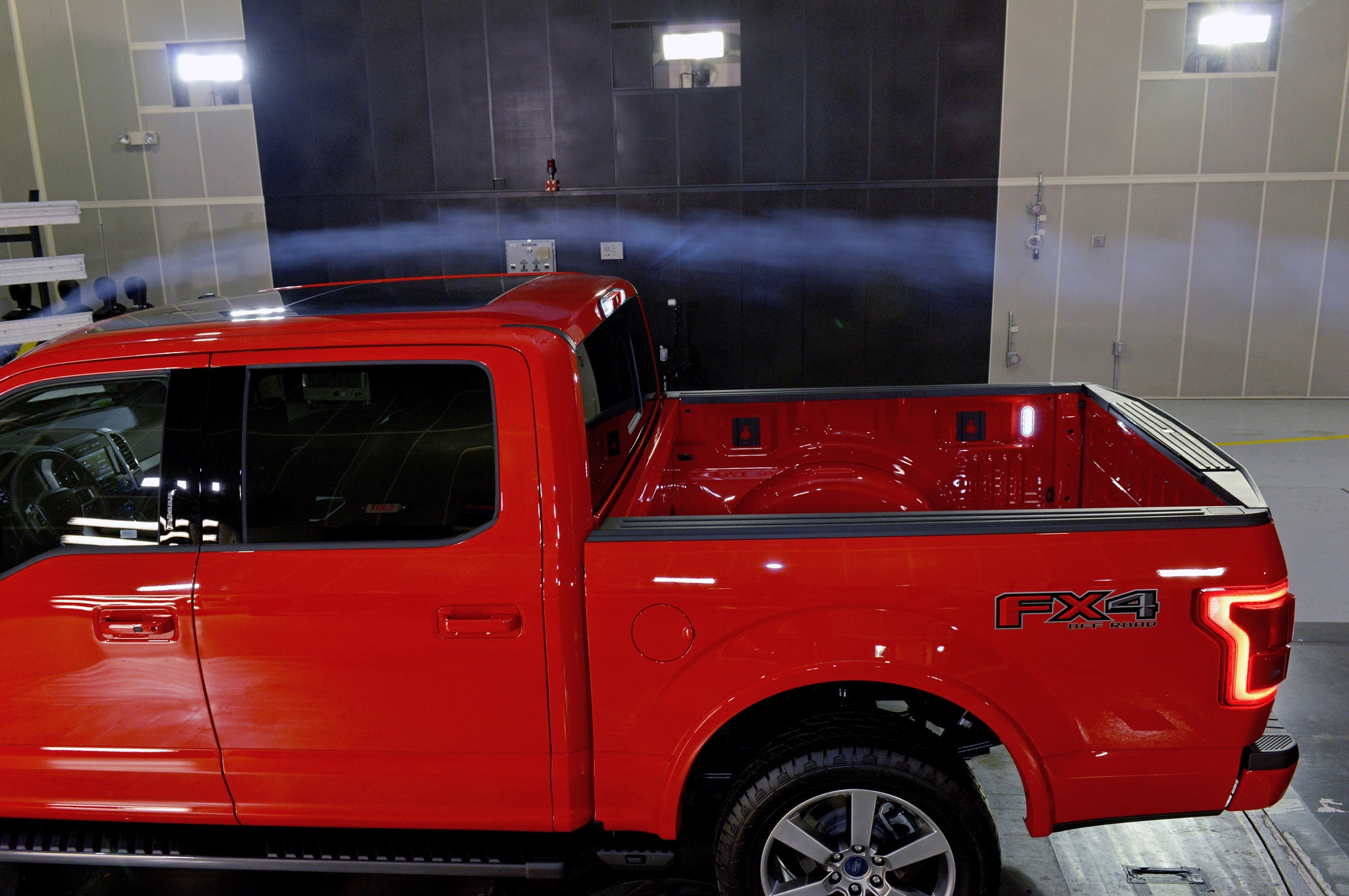 2015 Ford F 150 Stresses Aerodynamics As Much As Styling