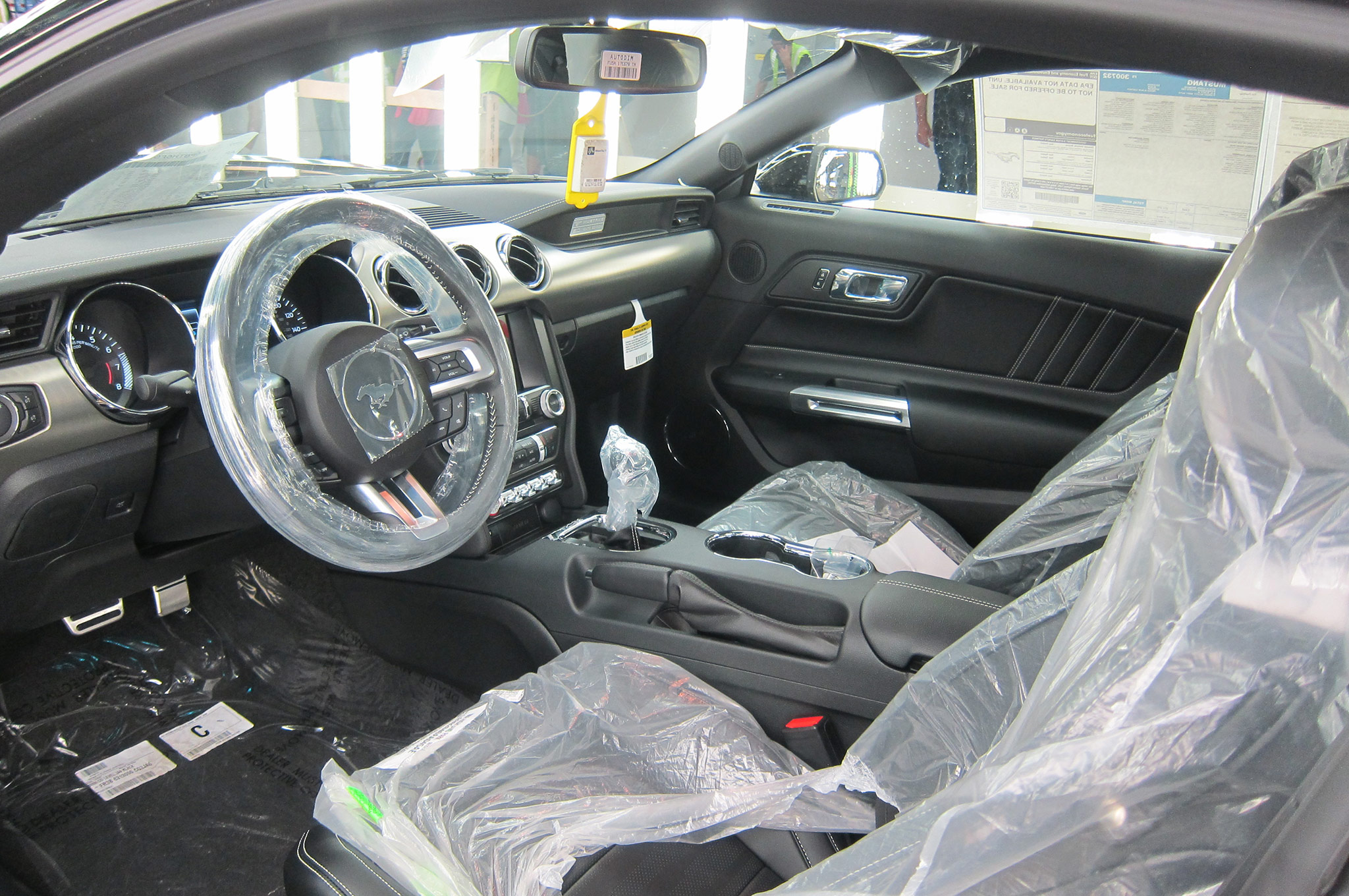 2015 ford mustang gt at flat rock interior covered - Ford Gt40 2015 Interior