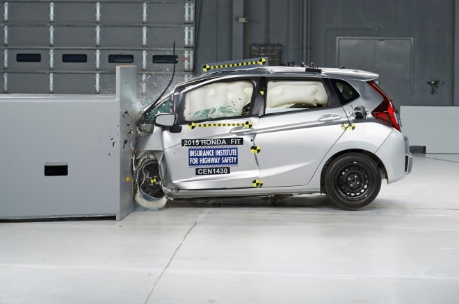 2015 Honda Fit IIHS During Test1 660x438