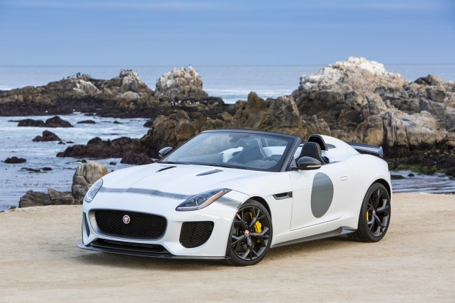 2015 Jaguar F Type Project 7 Front Three Quarters 02 660x440