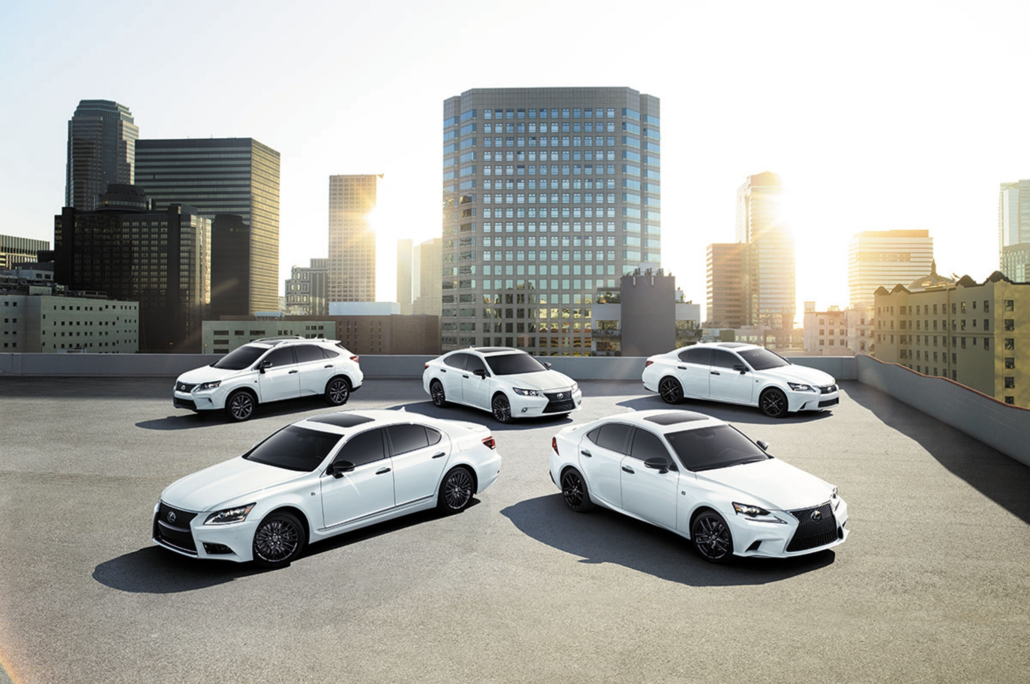 2015 Lexus Crafted Line Group Photo1