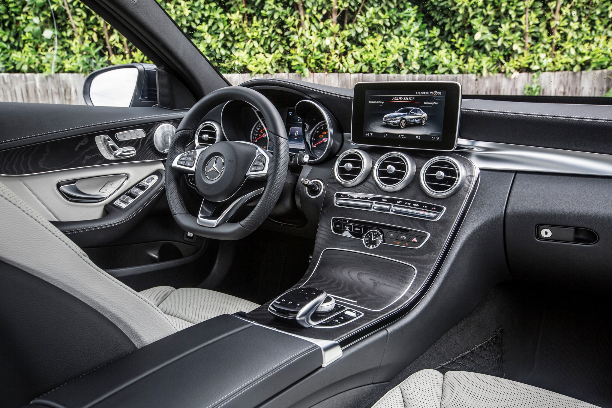 though the 2015 mercedes benz c class