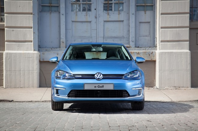 2015 Volkswagen E Golf Front End1 660x438