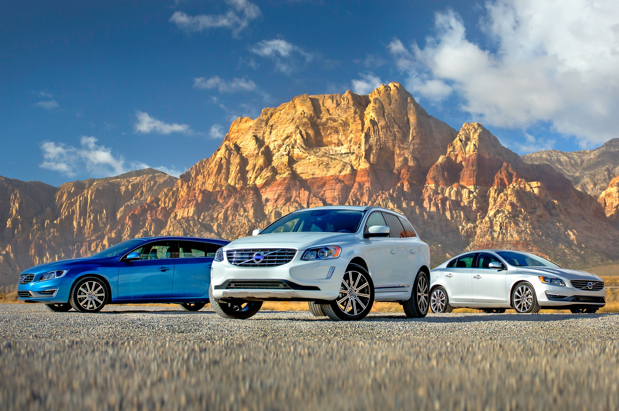 2015 Volvo S60 V60 And XC60 Front 011