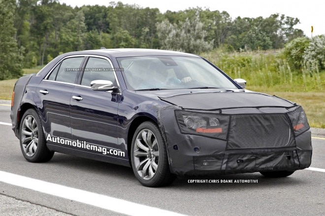 2015 Chrysler 300 Spied Front Three Quarter 11 660x438