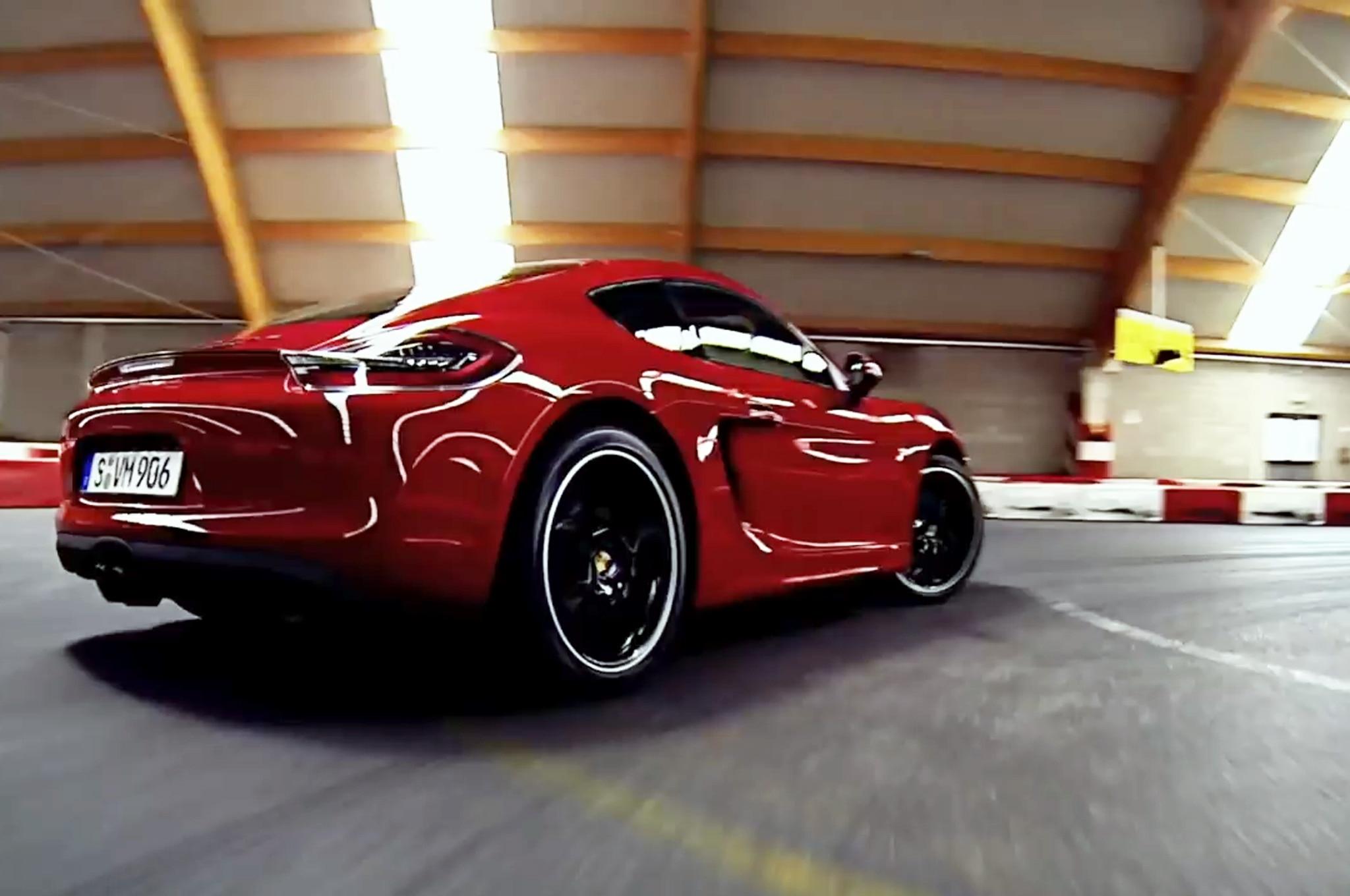 2015 Porsche Cayman Gts Go Kart Track Video