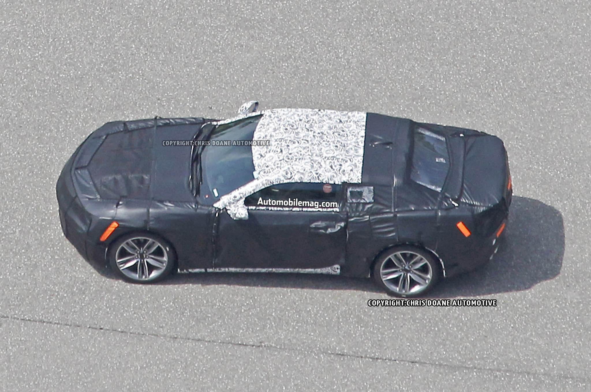 2016 Chevrolet Camaro ZL1 Prototype Side Profile 021