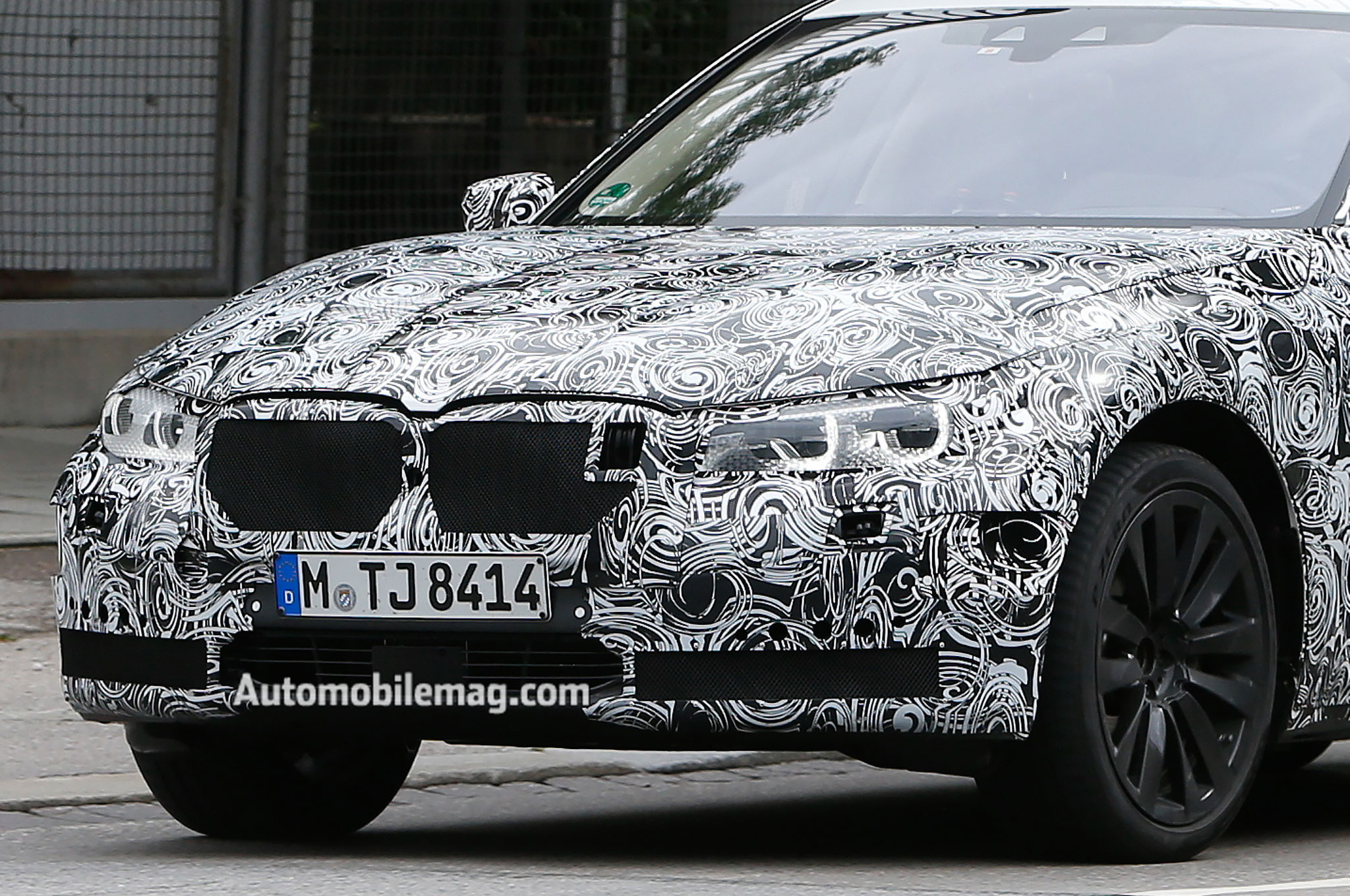 BMW 7 Series Prototype Hard Front