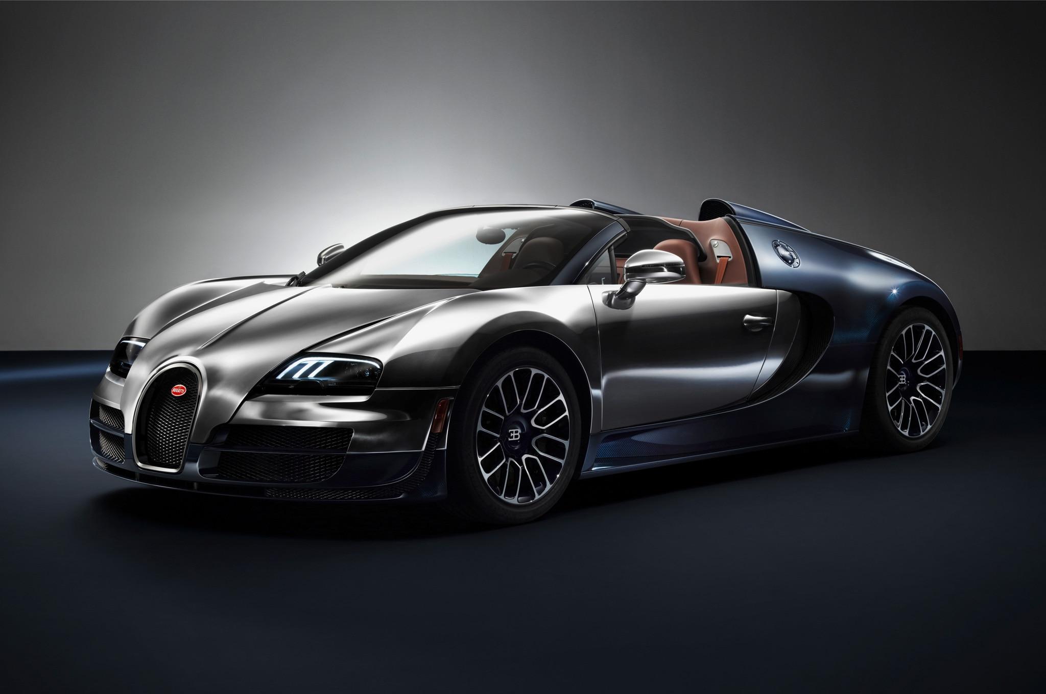 Bugatti Veyron Grand Sport Vitesse Legends Ettore Bugatti Front Three Quarter1