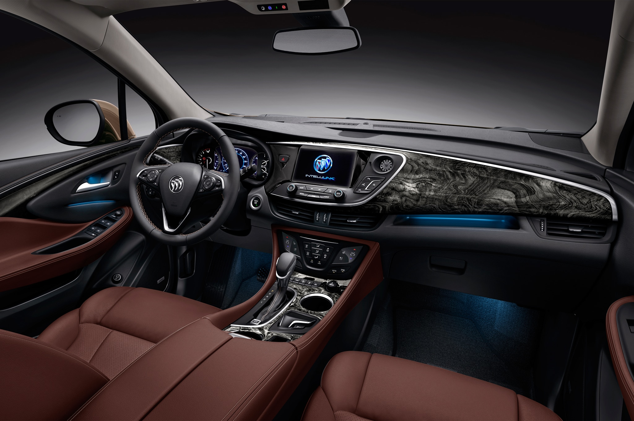 Buick Envision Debuts In China Could Come To US Buick Envision Chinese Spec  Interior 02 Buick