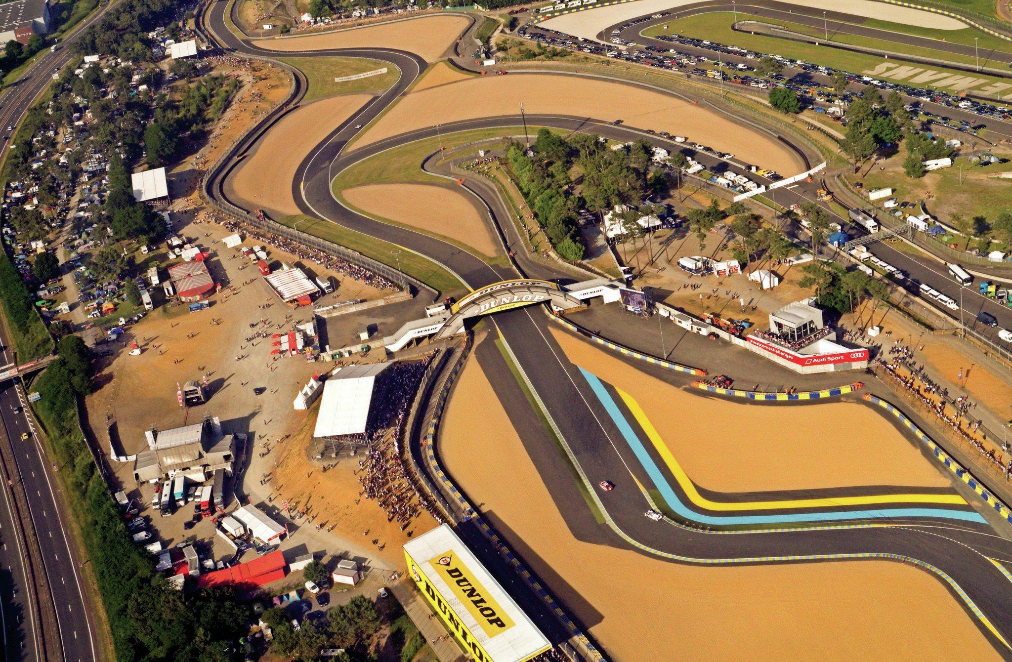 Circuit De La Sarthe From Above
