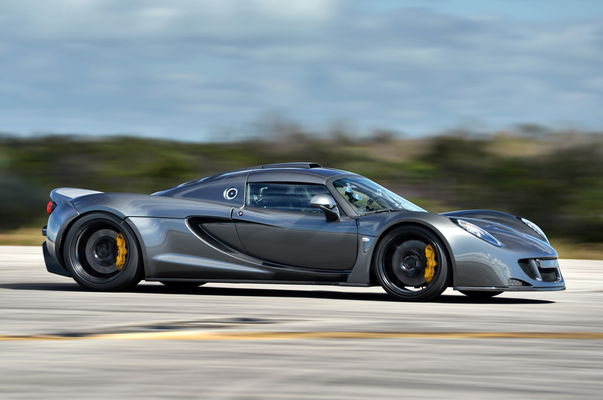 2012 Hennessey Venom GT Owned by Steven Tyler Sells for Charity