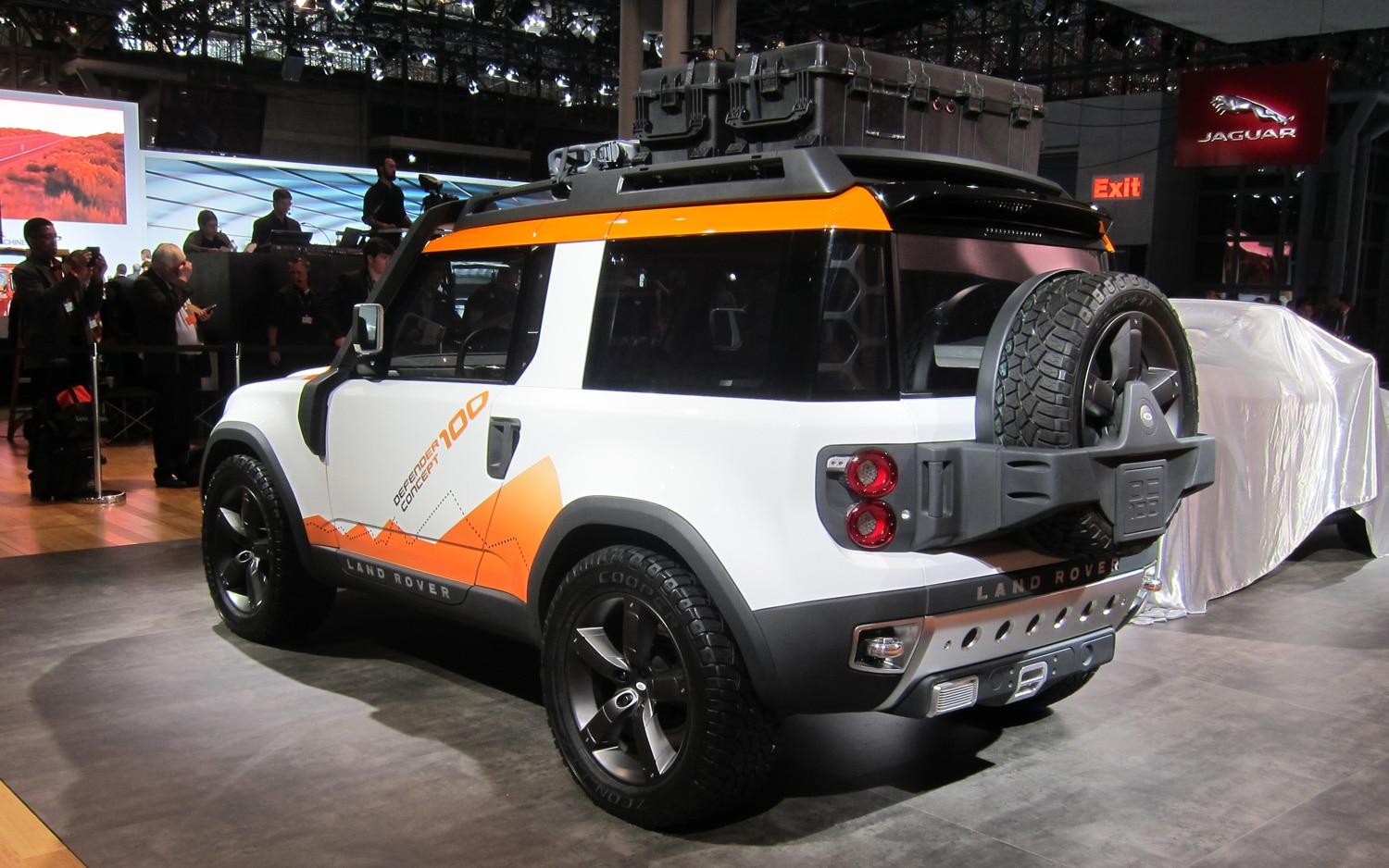 Report New Land Rover Defender Wont Look like DC100 Concept