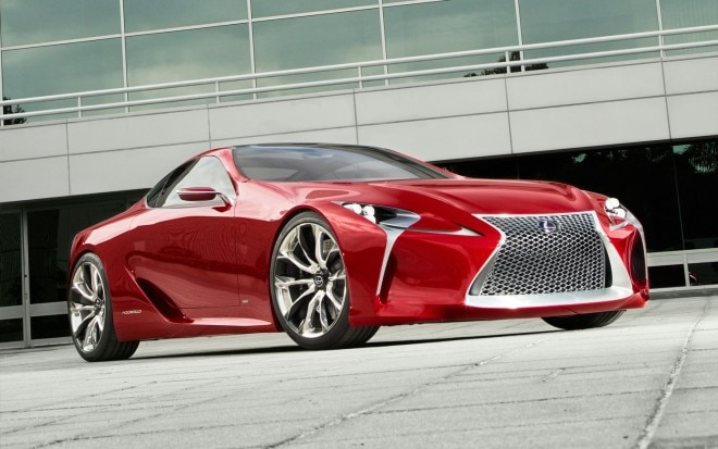 Lexus LF LC Concept Front Three Quarter Low1 660x413
