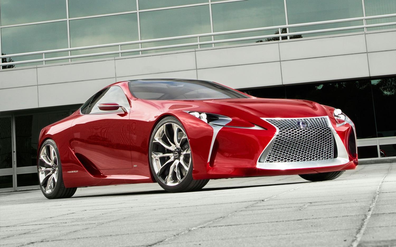 Lexus LF LC Concept Front Three Quarter Low1