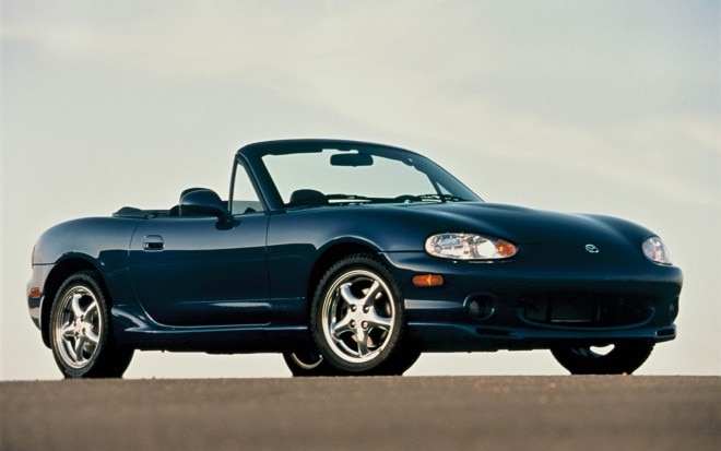 Mazda MX 5 Miata Second Generation Front View 660x413