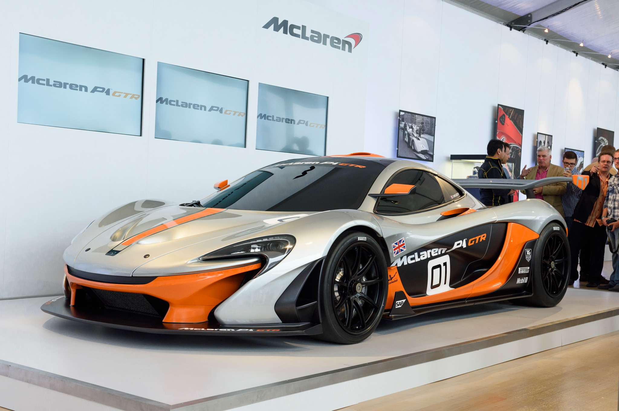 Mclaren p1 gtr extreme track weapon unveiled pictures - Aerodynamic