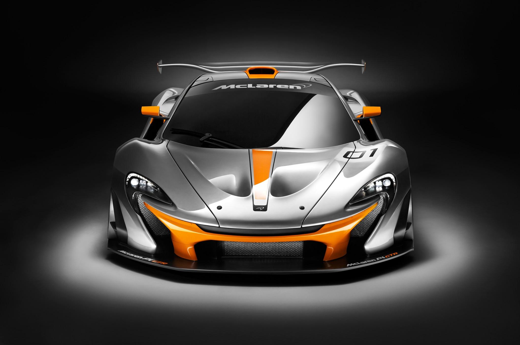 McLaren P1 GTR Front View