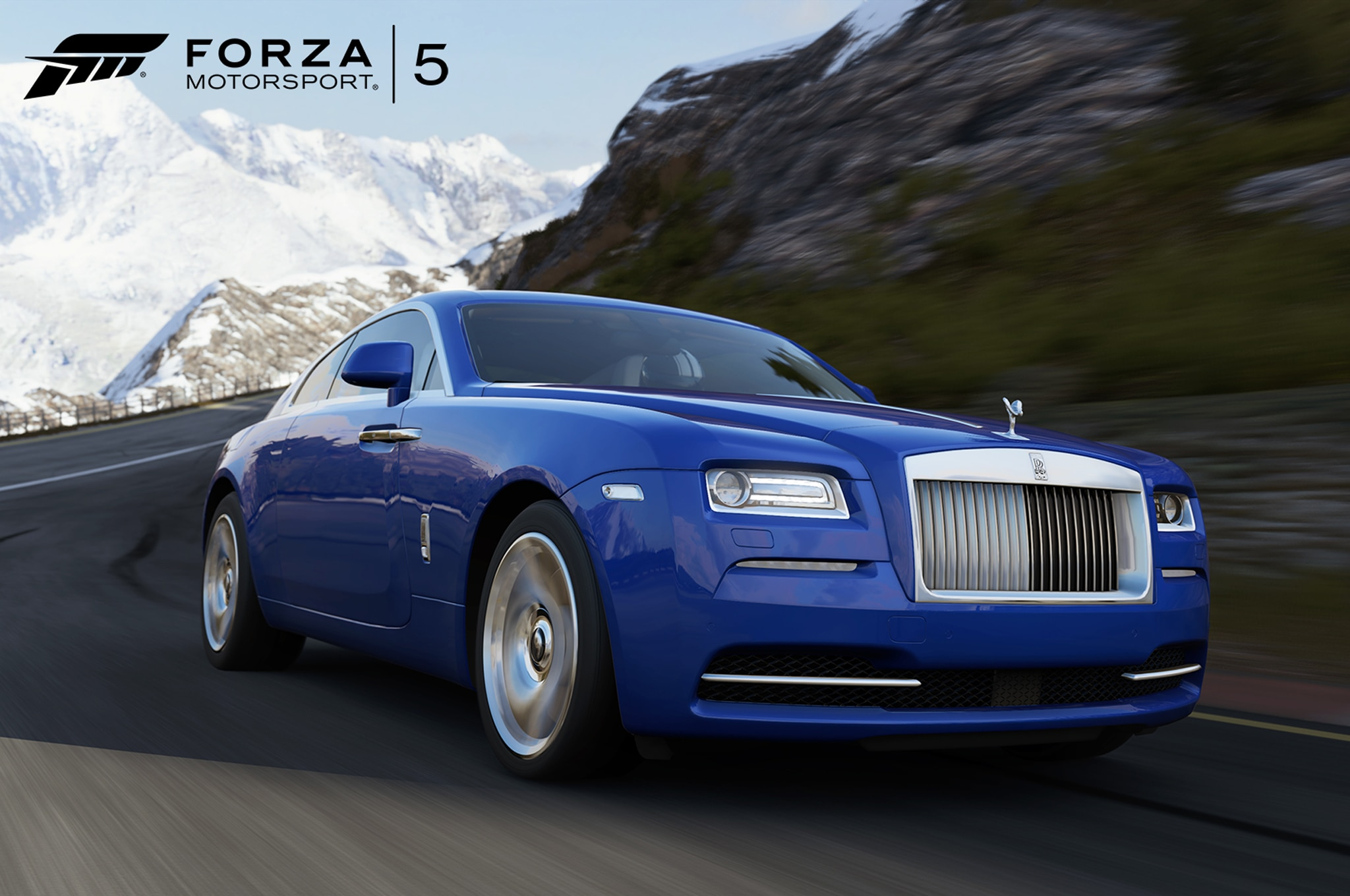 Rolls Royce Wraith In Forza Motorsports 5 Front Three Quarter1