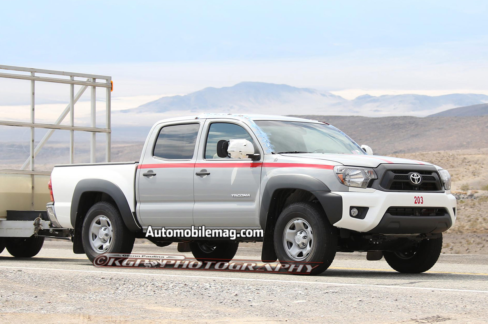 Toyota Tacoma Prototype Spied Front Three Quarter 21