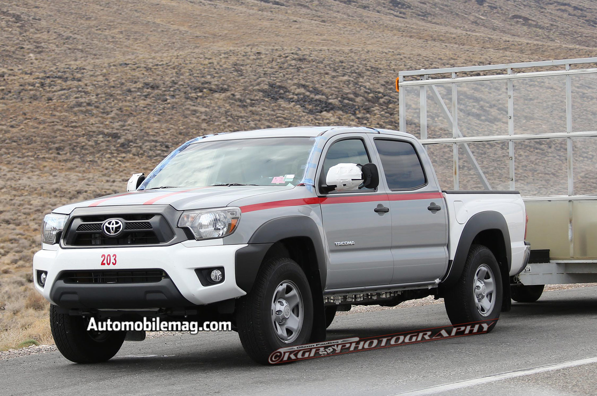 2016 Toyota Tacoma Test Mule Spied For the First Time