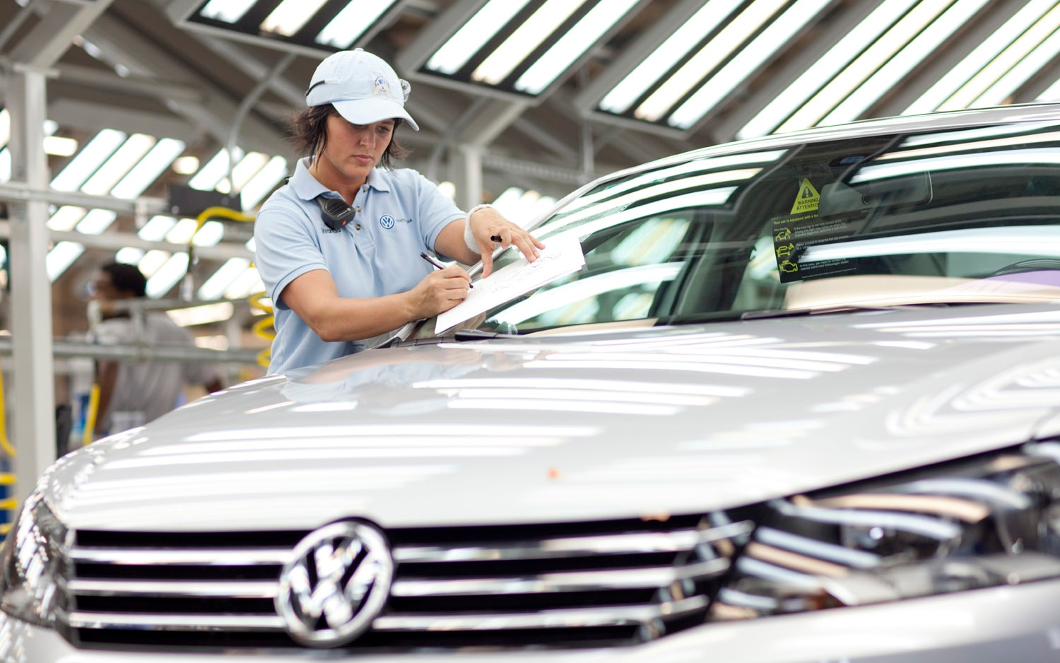Volkswagen Chattanooga Plant Quality Control Worker1