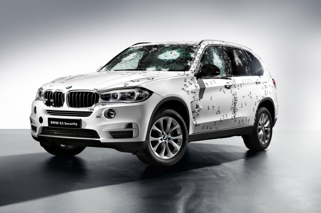 Bmw X5 Security Front Three Quarters With Bullets1 660x438