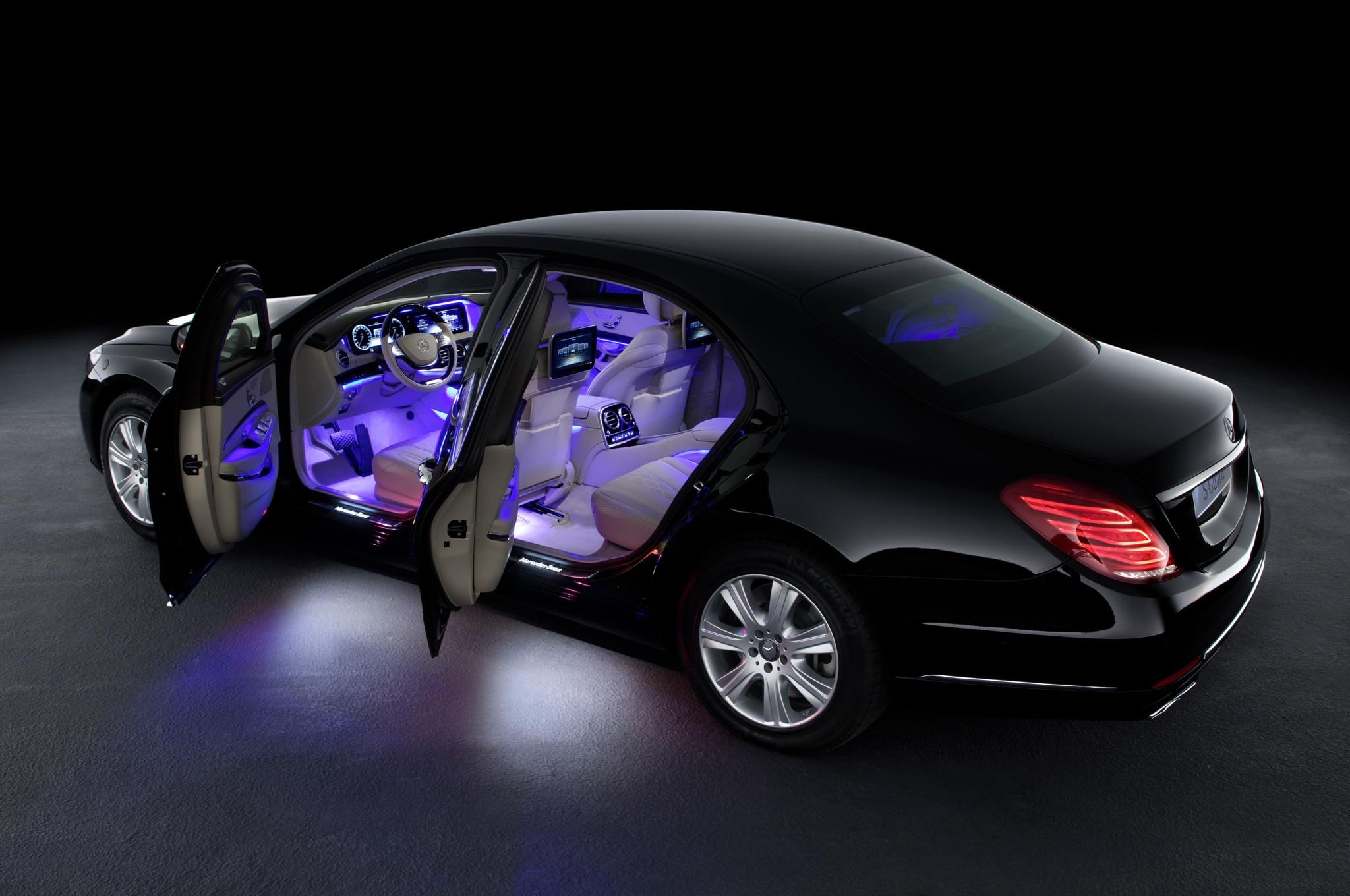Mercedes Benz S600 Guard Doors Open1