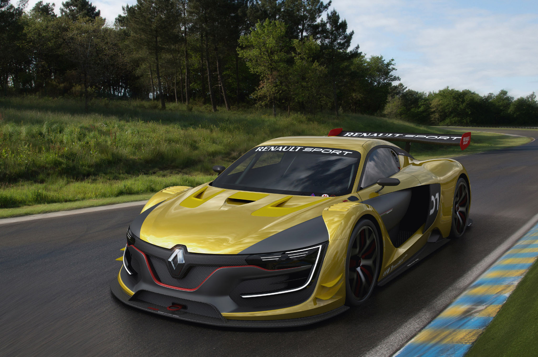 Renaultsport Rs 01 Race Car 8 Front Three Quarter1