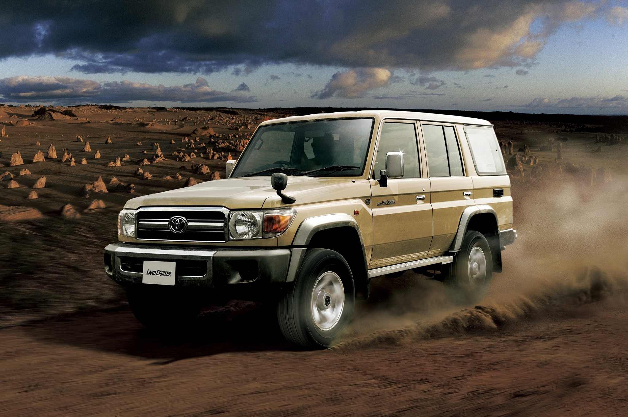 Toyota Land Cruiser 70 Re Release 05 Front Three Quarter1