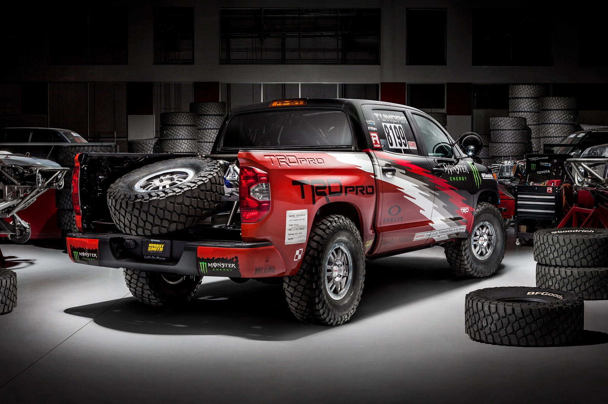 toyota tundra trd pro to race in baja 1000. Black Bedroom Furniture Sets. Home Design Ideas