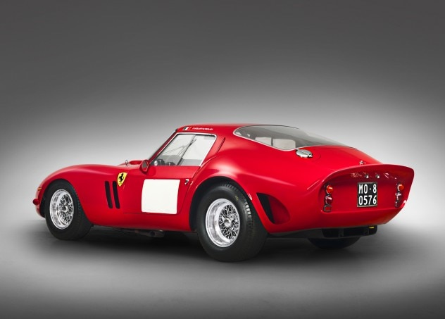 1962 Ferrari 250 GTO Berlinetta Rear Three Quarter1 632x453