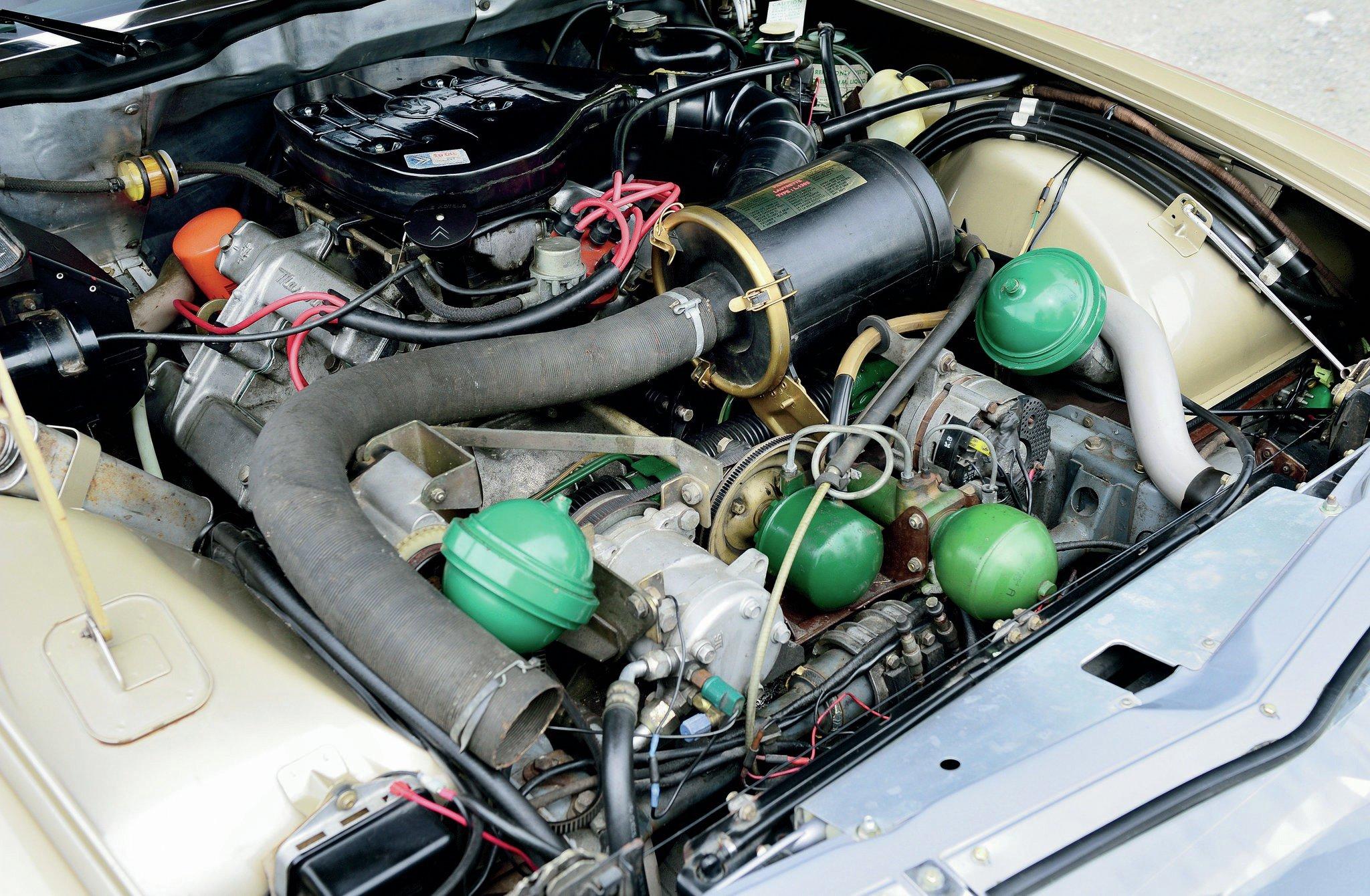 Citroën GS Palas de 1975: motor nuevo en marcha - YouTube