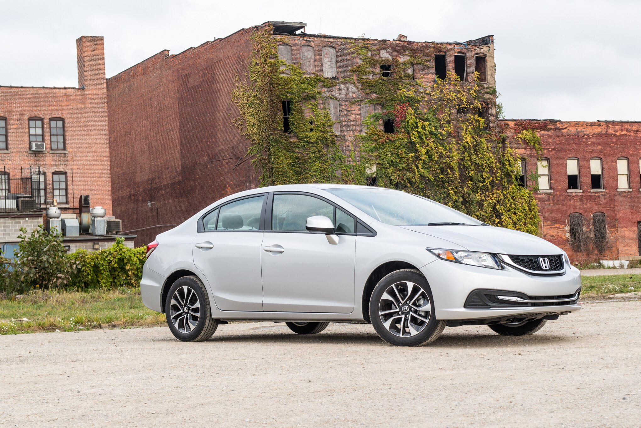 2014 Honda Civic EX Front Three Quarters View