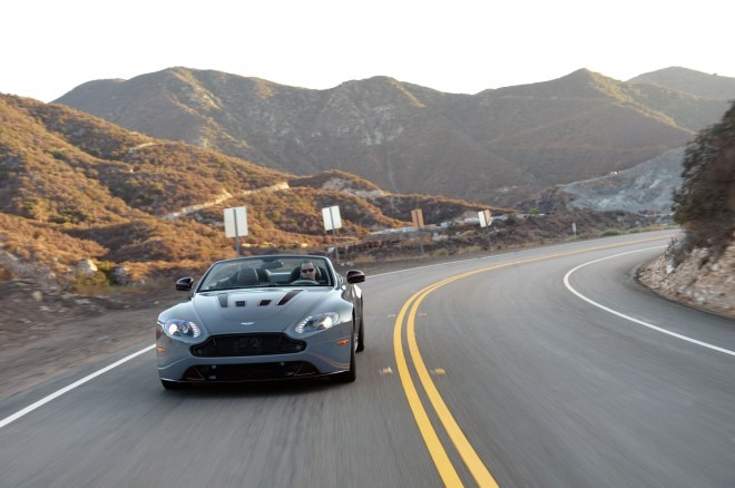 Aston Martin V Vantage S Roadster Front View X
