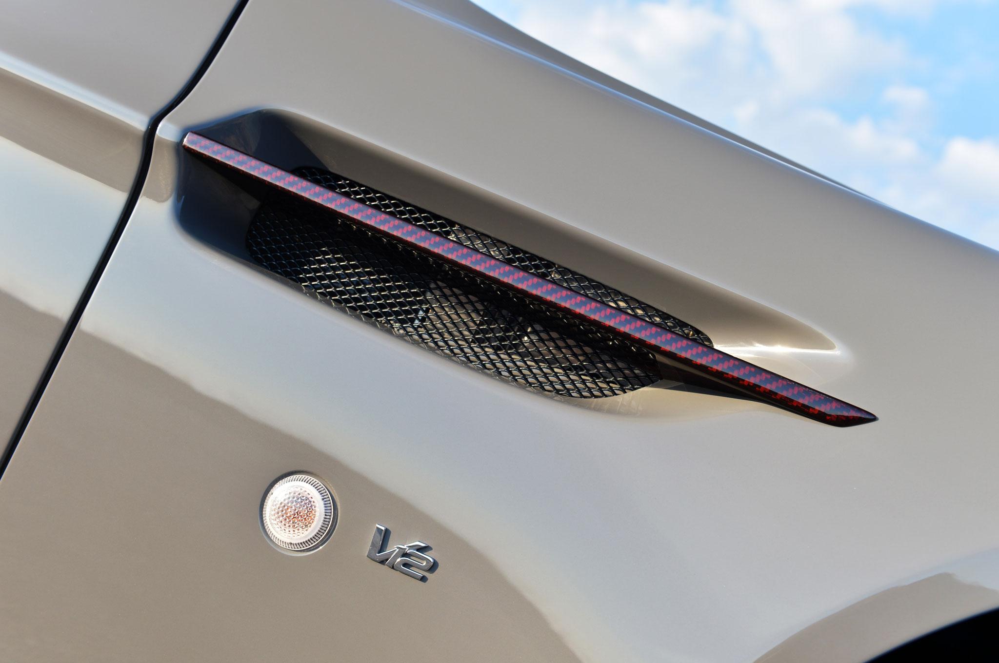 Aston Martin V Vantage S Roadster Passenger Side Fender on Driven 2015 Aston Martin V12 Vantage S Roadster Review