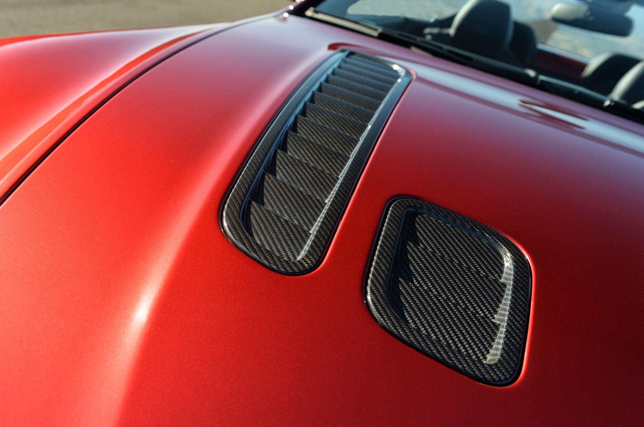 Aston Martin V Vantage S Roadster Right Side Hood Vents