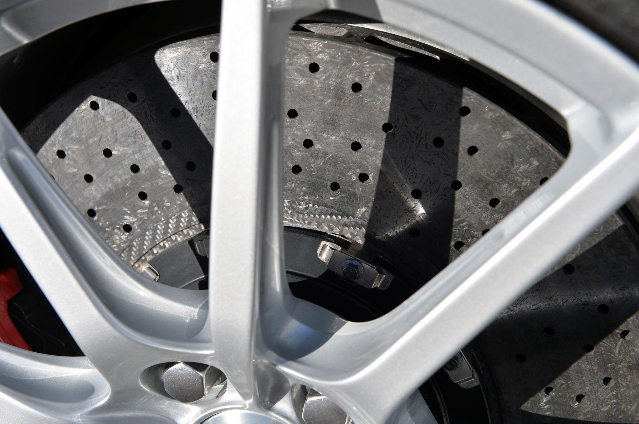 Aston Martin V Vantage S Roadster Wheel Rim Detail on Driven 2015 Aston Martin V12 Vantage S Roadster Review
