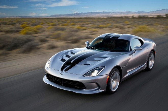 2015 Dodge Viper SRT Front Three Quarter1 660x438