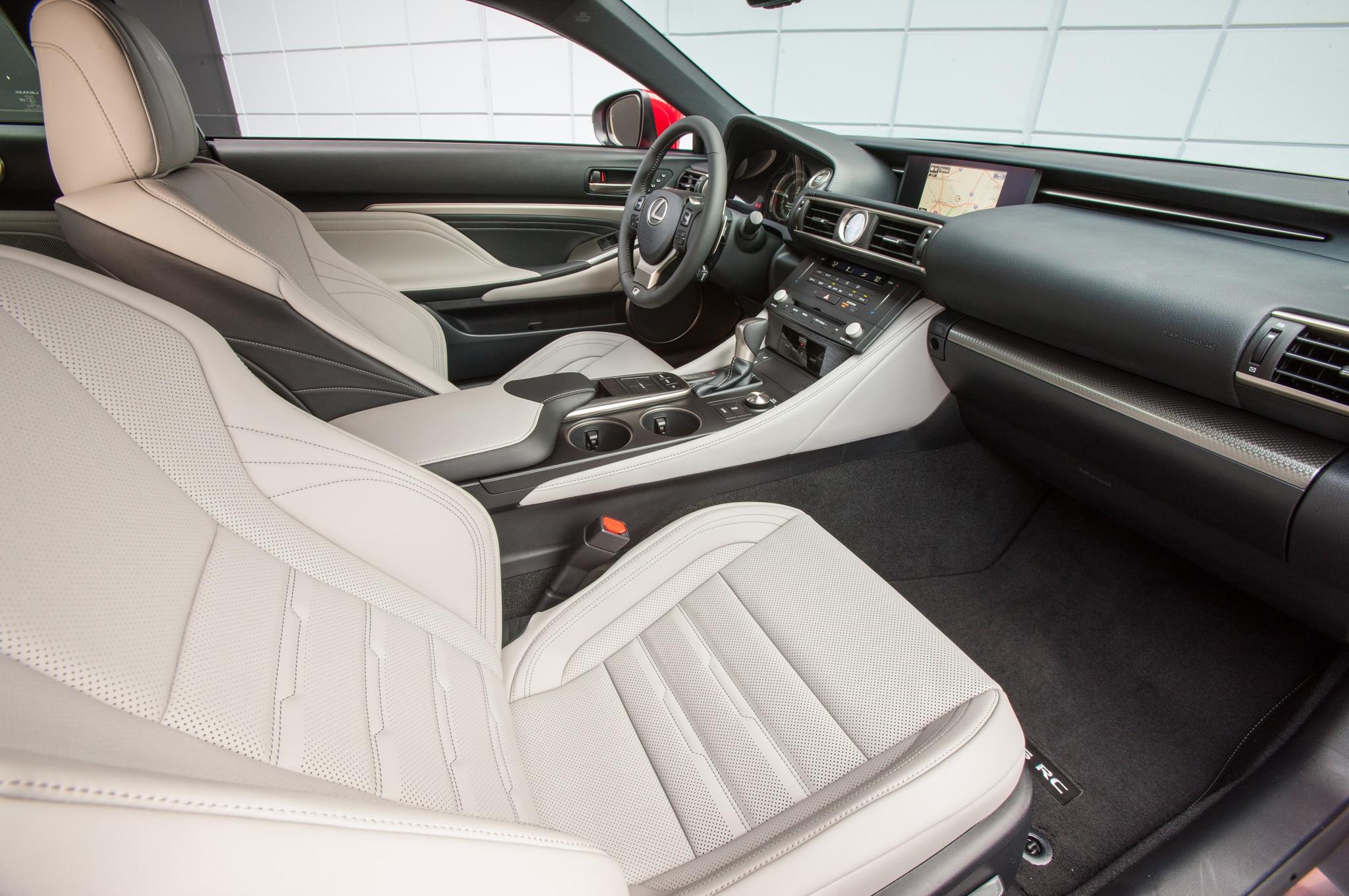 2015 Lexus RC 350 RC F Review