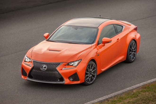 2015 Lexus RC F Front Three Quarter 032 660x440