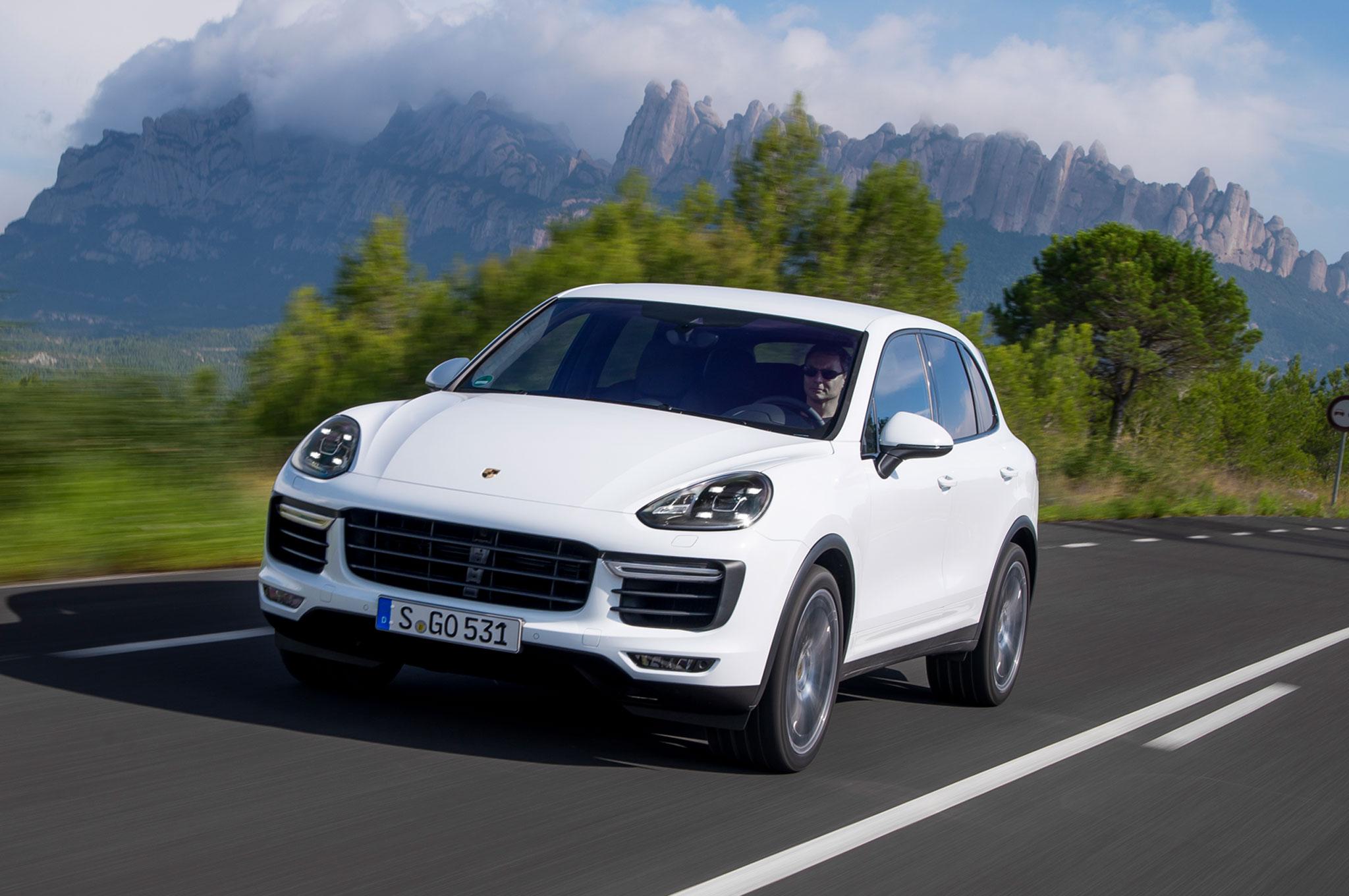 2015 porsche cayenne s turbo review - Porsche Cayenne Turbo White