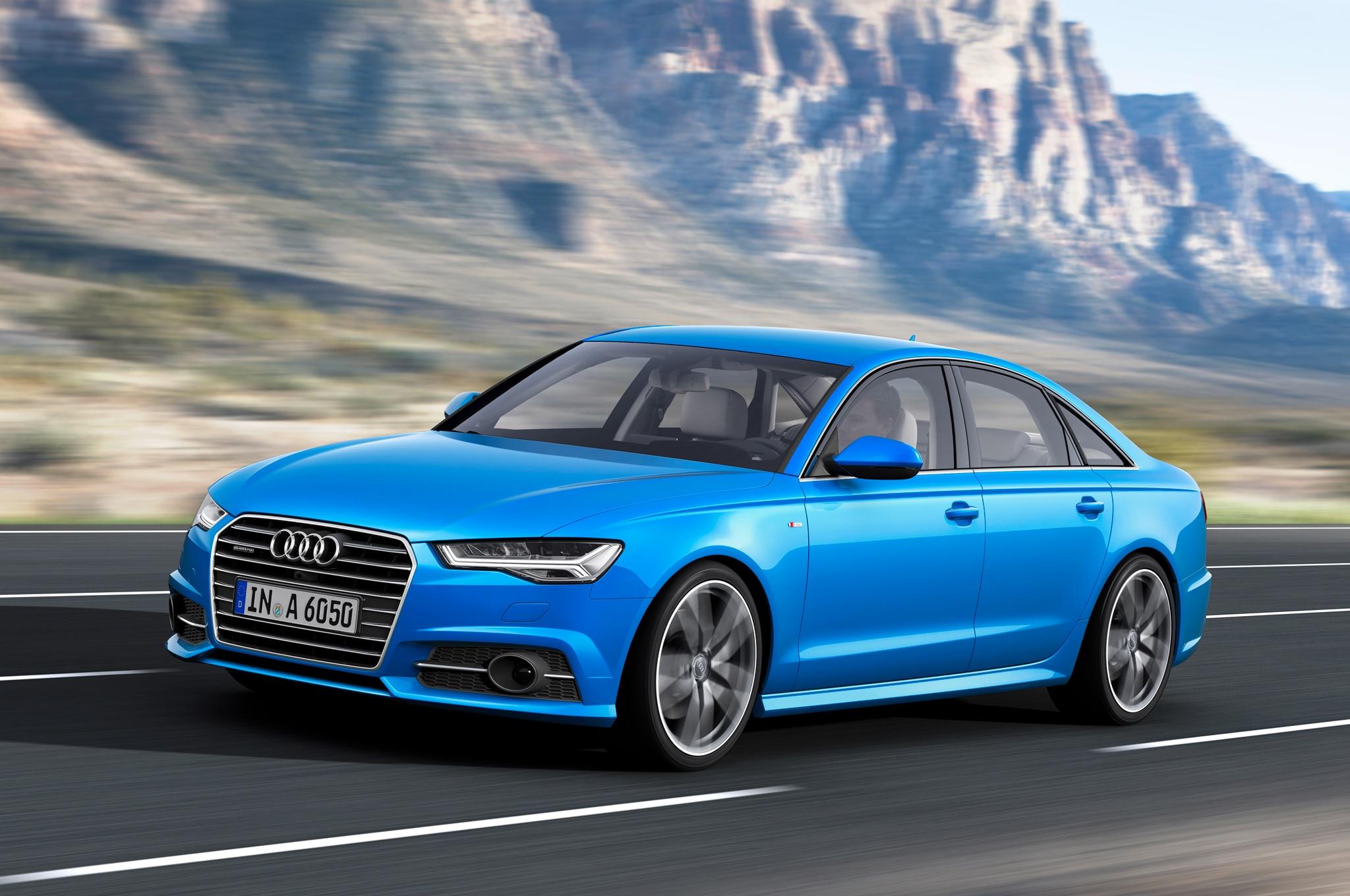 2016 Audi A6 European Spec Front Three Quarter In Motion1