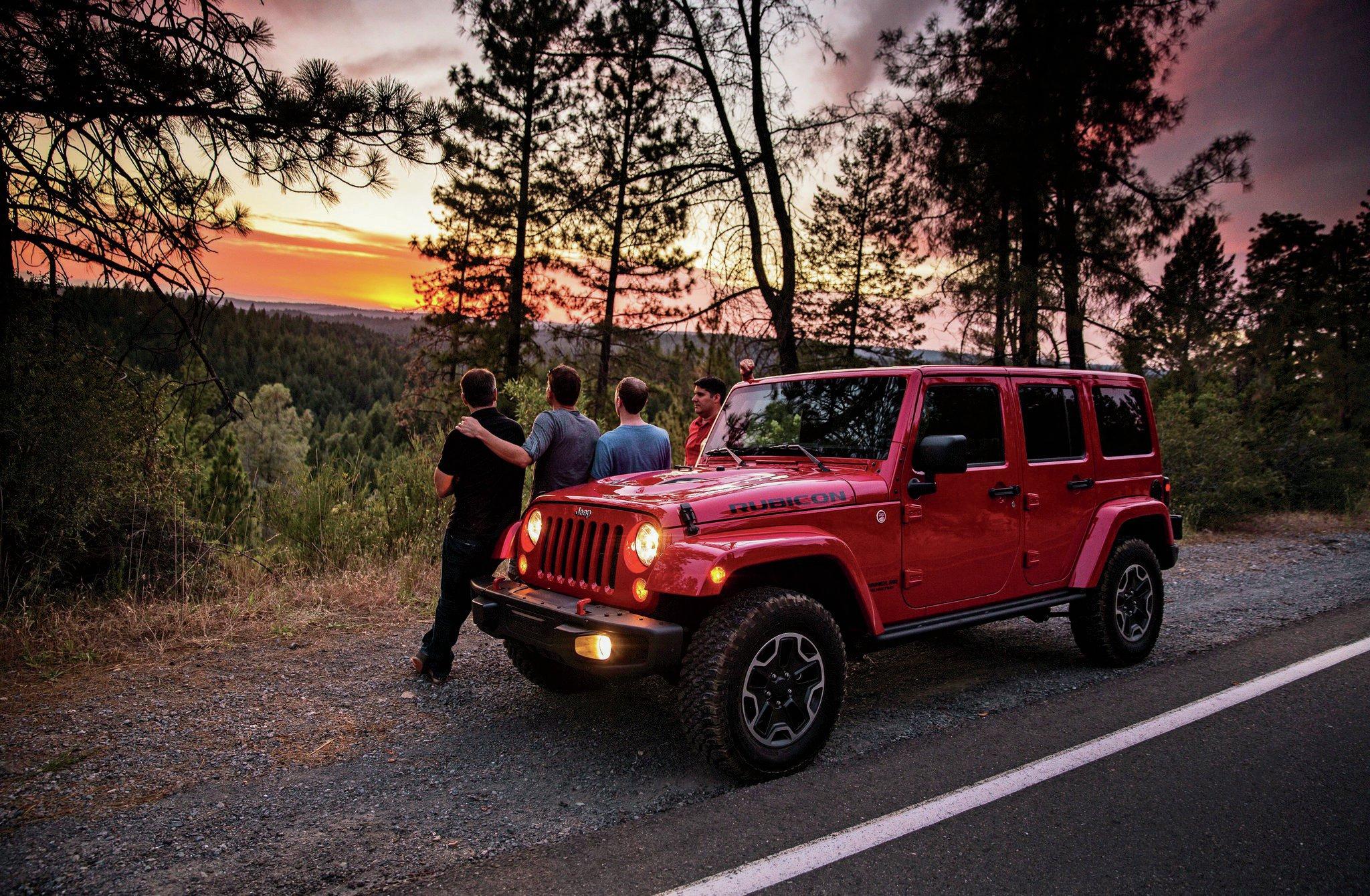 09 Jeep Wrangler Boys Weekend: Jeep Wranglers on the Rubicon Trail